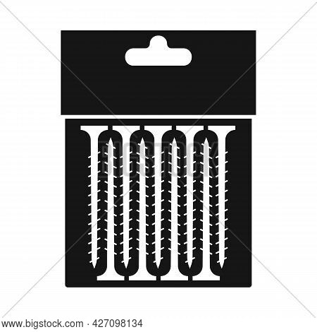 Isolated Object Of Screw And Instrument Icon. Web Element Of Screw And Packaging Vector Icon For Sto