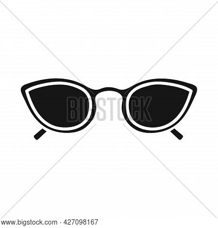 Vector Design Of Glasses And Sunglasses Sign. Web Element Of Glasses And Spectacles Stock Vector Ill