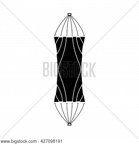 Isolated Object Of Hammock And Bed Logo. Graphic Of Hammock And Mat Vector Icon For Stock.