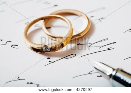 Rings And Pen
