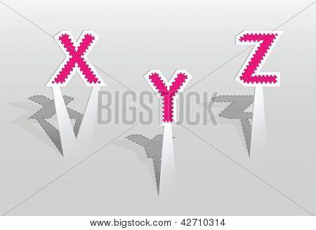 Illustration Of Letters