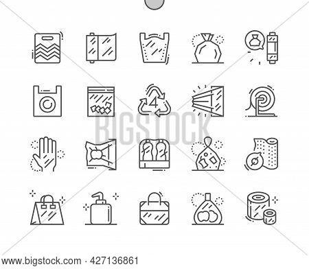 Low Density Polyethylene. Plastic Bag. Plastic Packaging. Polymer Pack, Transparent Cellophane. Pixe