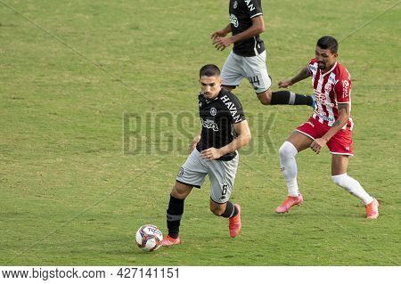 Rio, Brazil - July 18, 2021: Andrey Player In Match Between Vasco 1 Vs 1 Nautico By 12th Round Of Br