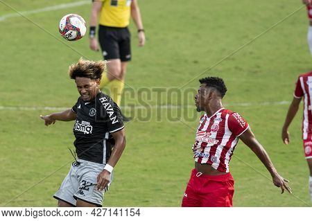 Rio, Brazil - July 18, 2021: Mt Player In Match Between Vasco 1 Vs 1 Nautico By 12th Round Of Brazil