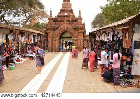 Souvenirs Gifts Local Shop For Burmese People And Travelers Foreign Select And Buy Shopping In Dhamm