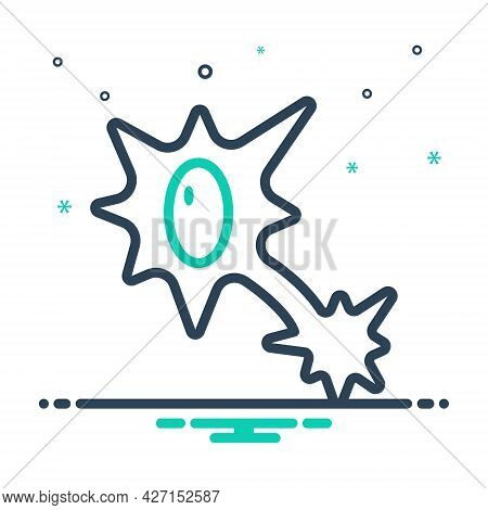 Mix Icon For Nervous-system Nervous System Neurology Health Cell Nerve Synapse