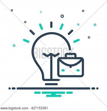 Mix Icon For Trading-idea Trading Idea Trading-concept Solution Conceptual Strategy Concepts Brifeca
