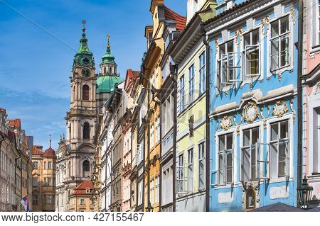 Into The Colorful District Of Mala Strana In Prague