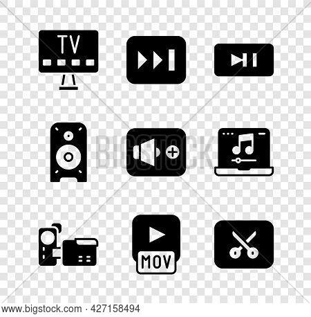 Set Smart Tv, Fast Forward, Pause Button, Cinema Camera, Mov File, Music Video Editing, Stereo Speak