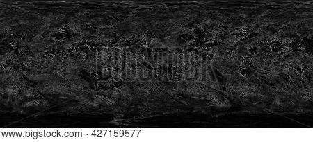 Grey Background Texture In Old Vintage Paper Design With Black Border, Old Antique Metal Background