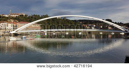 Bridge Of Plentzia, Bizkaia, Spain