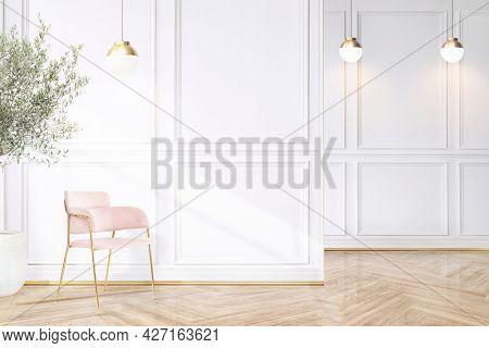 Luxury living room interior design