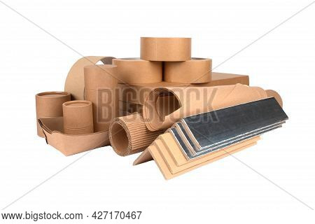 Paper Packaging - Cardboard Edge Protectors With Alu Paper, Cardboard Boxes, Rolls Of Paper, Paper T