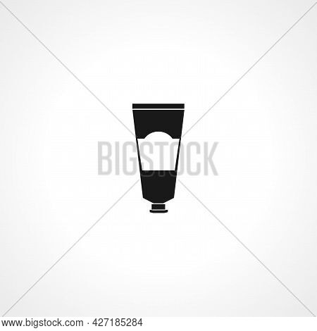 Tube Container For Cream Icon. Tube Container For Cream Isolated Simple Vector Icon.