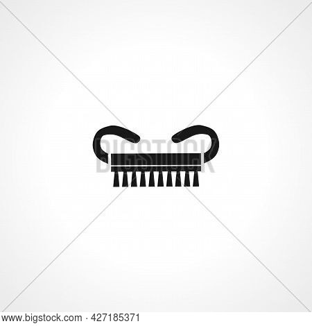 Comb Icon. Comb Isolated Simple Vector Icon.