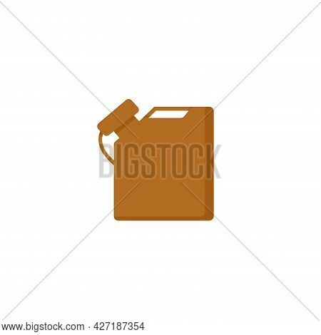 Canister Clipart. Canister Isolated Simple Flat Vector Clipart