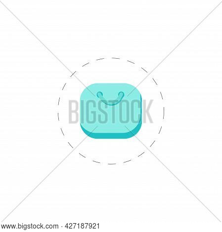 Luggage Clipart. Luggage Isolated Simple Flat Vector Clipart