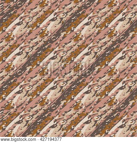 Upholstery Fabric Burlap Vector Seamless Pattern Background. Midcentury Modern Faux Cotton Texture B
