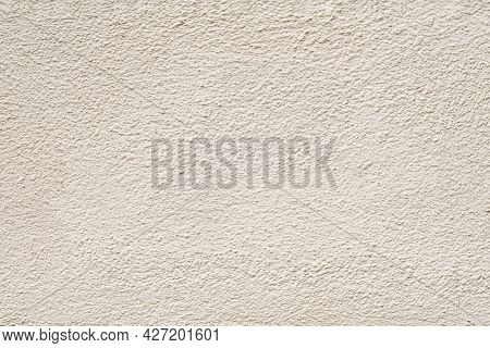 Cream Color Plaster, Concrete Wall, Texture, Natural Background