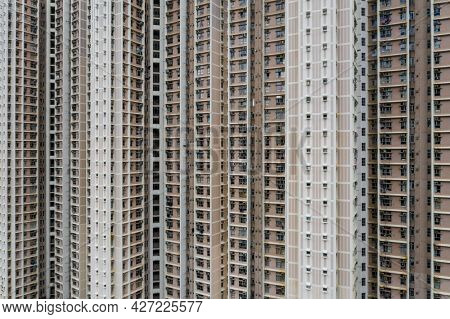 Apartment Skyscraper building facade exterior