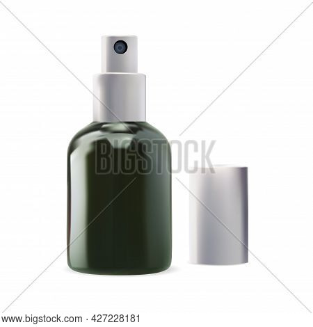 Spray Dispenser Bottle. Serum Cosmetic Atomizer. Clear Skin Camellia Water Container Design. Face Hy