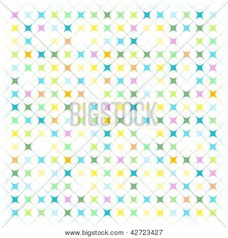 abstract stained glass seamless pattern mosaic elements poster