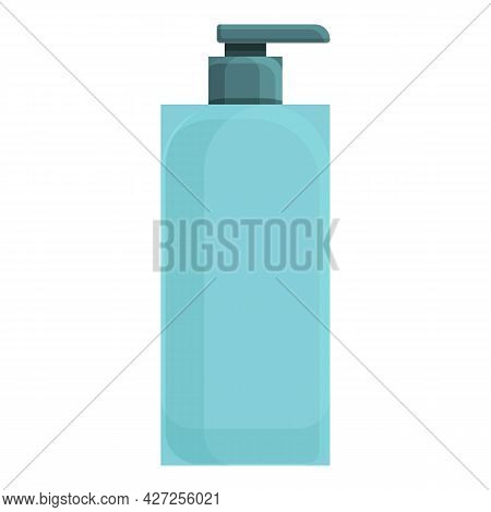 Conditioner Dispenser Icon Cartoon Vector. Cosmetic Lotion. Beauty Bottle