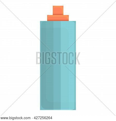 Hair Strong Spray Icon Cartoon Vector. Can Bottle Aerosol. Hairspray Dandruff