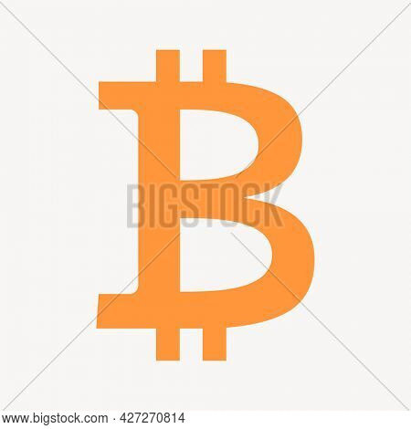 Bitcoin blockchain cryptocurrency icon open-source finance concept