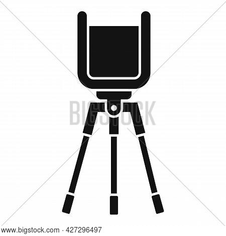 Phone Video Stand Icon Simple Vector. Mobile Tripod. Smartphone Camera Stand