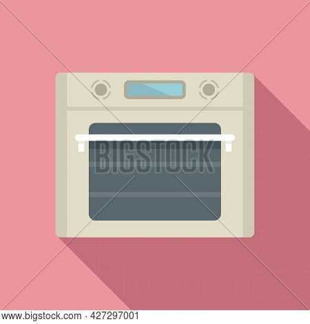 Cooking Convection Oven Icon Flat Vector. Gas Kitchen Stove. Cooker Oven