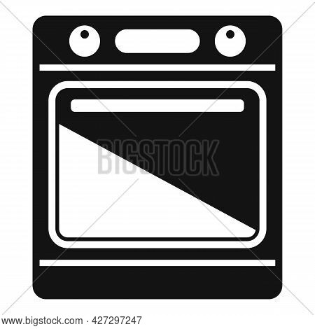 Electric Convection Oven Icon Simple Vector. Kitchen Stove. Gas Convection Oven