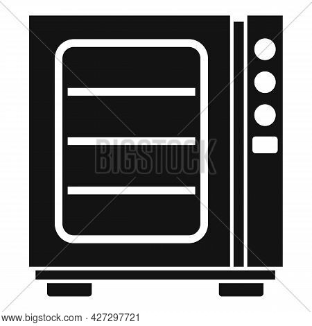 Oven Convection Technology Icon Simple Vector. Gas Fan Stove. Cooking Convection Oven