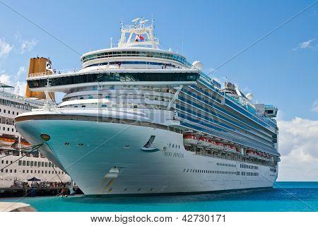 Princess Cruise Lines In St. Maarten