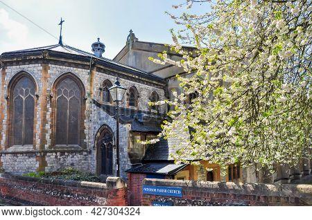 Windsor Parish Church In Spring, United Kingdom