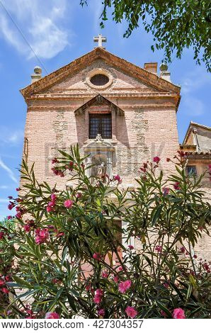 Church In Toledo Old Town In Spring, Spain