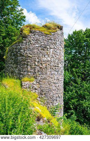 Kumburk Castle Ruins Near Nova Paka, Czech Republic
