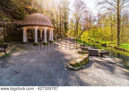 Spring Of Saint Zdislava Near Lemberk Castle, Jablonne V Podjestedi, Czech Republic