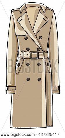 Trench Coat Classic Clothes Basic Fashion Clothing