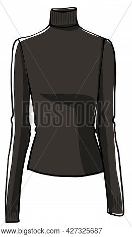 Warm Autumn Sweater With Sleeves Stylish Clothes