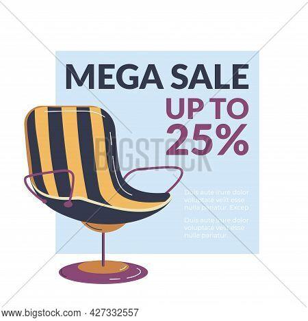 Mega Sale In Furniture Shop, Up To 25 Percent