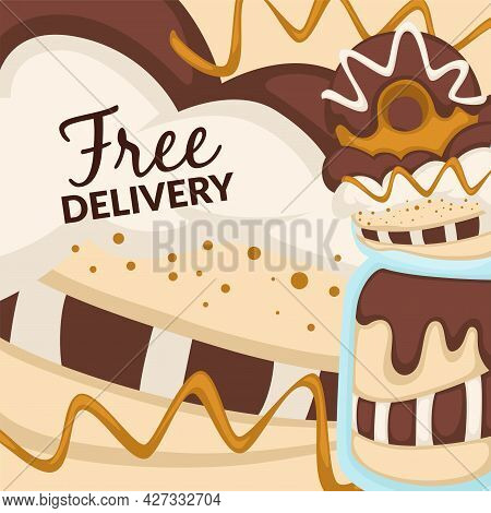 Dessert And Sweets, Bakery Free Delivery Of Food