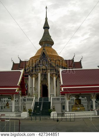 Visitation Of A Buddhist Temple In Pattaya In Thailand 8.12.2018
