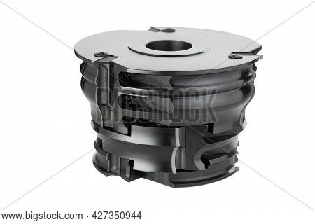 Sharp Milling Cutter Isolated On White Background