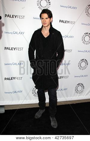 LOS ANGELES - FEB 27:  Jayson Blair arrives at the PaleyFest Icon Award 2013 at the Paley Center For Media on February 27, 2013 in Beverly Hills, CA