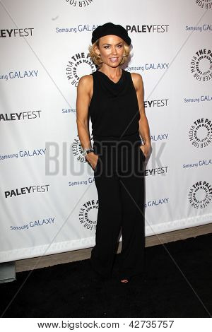 LOS ANGELES - FEB 27:  Kelly Carlson arrives at the PaleyFest Icon Award 2013 at the Paley Center For Media on February 27, 2013 in Beverly Hills, CA