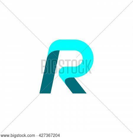 R Letter Logo Business Vecto
