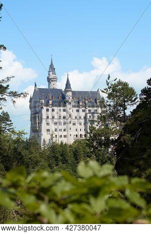 Neuschwanstein Castle, Bavaria, Germany, Ludwig, Dreamcastle, King