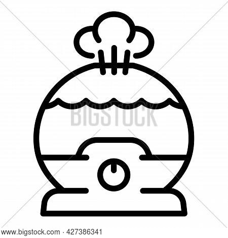 Ionizer Humidifier Icon. Outline Ionizer Humidifier Vector Icon For Web Design Isolated On White Bac