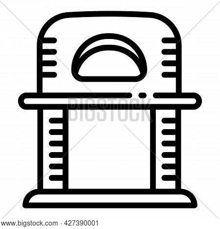 Soft House Pet Cat Icon. Outline Soft House Pet Cat Vector Icon For Web Design Isolated On White Bac